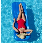 Aquaria Cool Pool Float - Blue