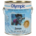 Zeron Heavy Duty One Coat Epoxy Pool Paint - 1 Gallon - White