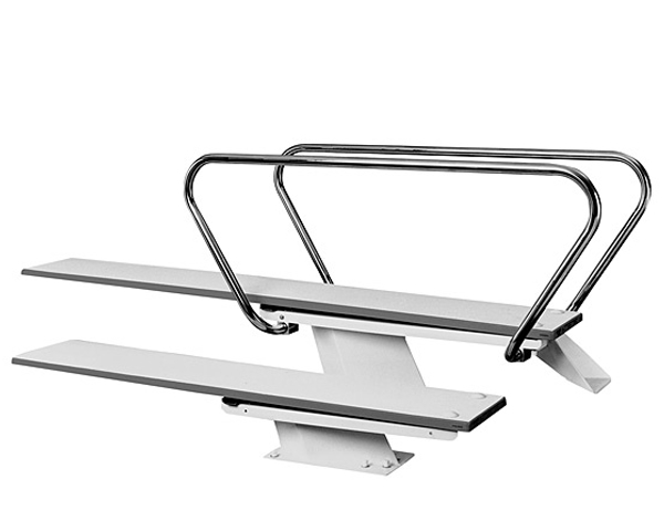 1 meter steel stand for 12 39 diving board for Swimming pool diving board paint kit
